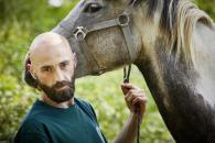 Bertrand et son cheval